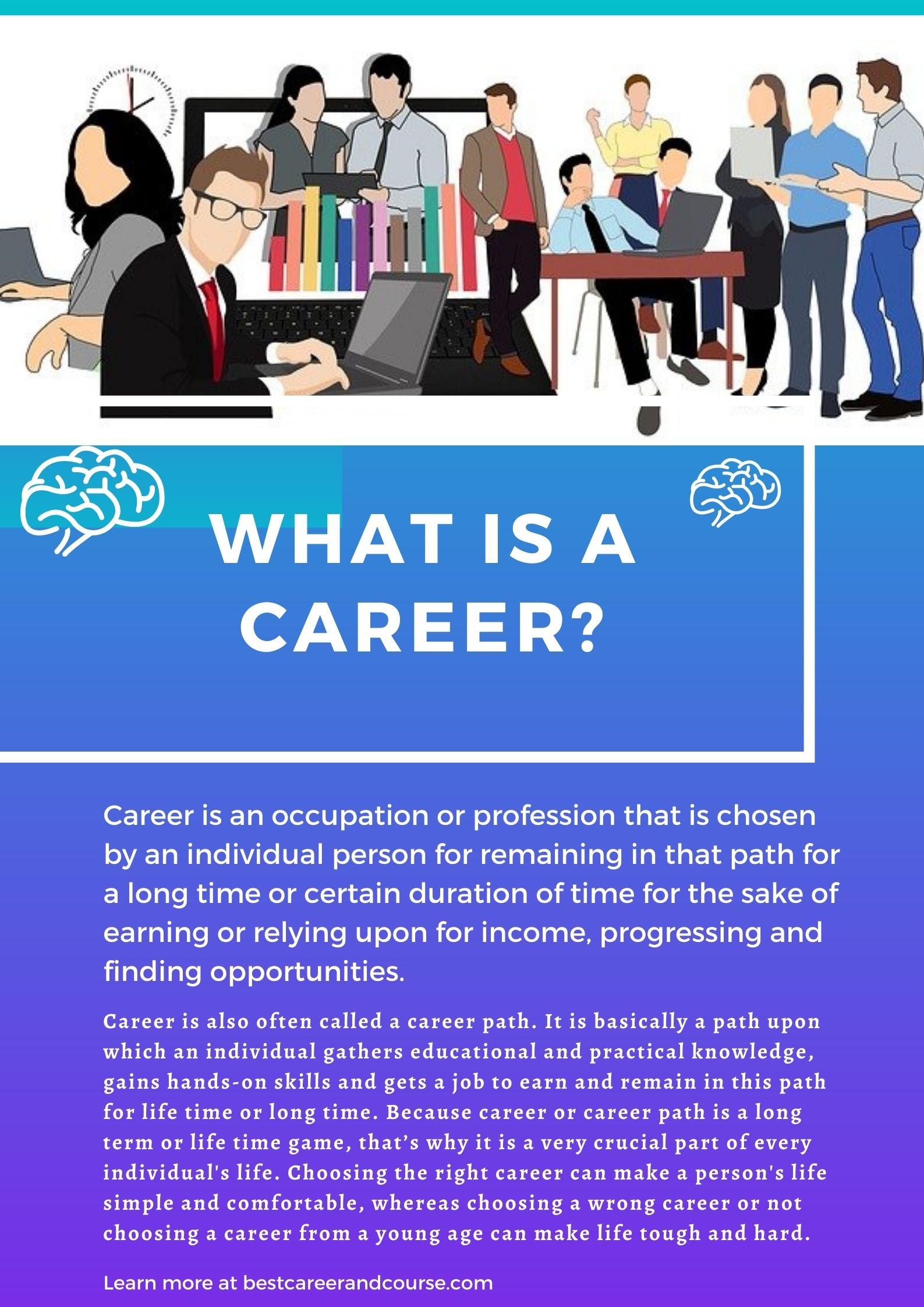career definition or career meaning
